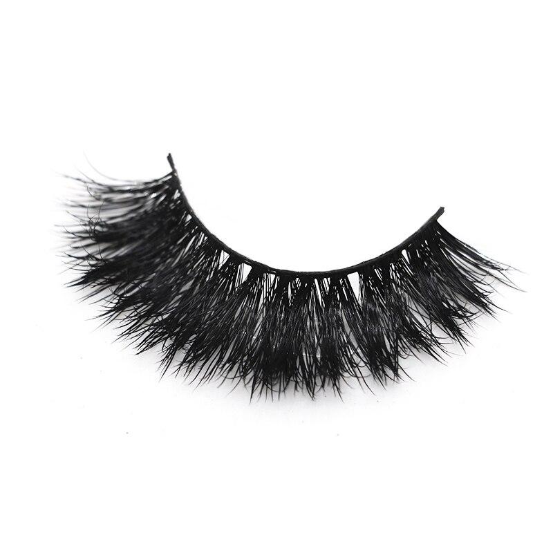 3D mink lashes three dimensional mink False Eyelash thick crisscross full strip Lashes Fluffy Handmade make up eyelash Extension