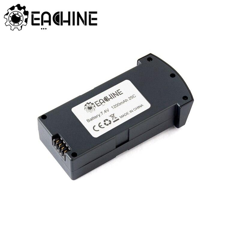 Eachine lipo bateria para e520 rc zangão quadcopter portátil durável peças de reposição 7.4 v 1200 mah 25c