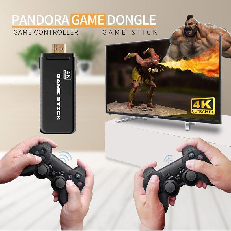 4k hd video game console dupla gamepad para ps1/gba clássico retro tv game console 32gb 3000 jogos 4k hdmi jogo de vídeo vara