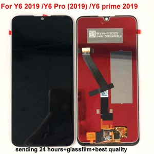 "Image 5 - 6.09 ""AAA Original Für Huawei Y6 Prime 2019 Y6 Pro 2019 Y6 2019 MRD LX1f LCD Display Touchscreen Digitizer montage Replac + Rahmen"