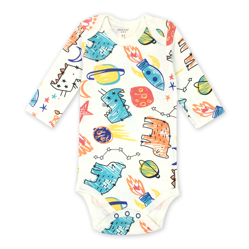 Baby Underwear Newborn Toddler Infant Bodysuit Long Sleeve 3 6 9 12 18 24 Months Babies Boys Girls Clothing
