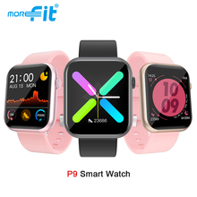 Smartwatch P8 P9 R3L Fitness-Tracker Blood-Pressure Heart-Rate Men Ip67 Waterproof Morefit