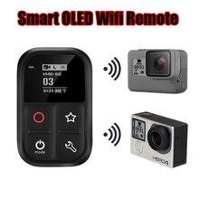 Новинка для GoPro Hero 7 8 Водонепроницаемый 60 м Wifi Пульт дистанционного управления для Go Pro Hero 5 6 7 8 черный 4 Session 3 3+ аксессуары для камеры