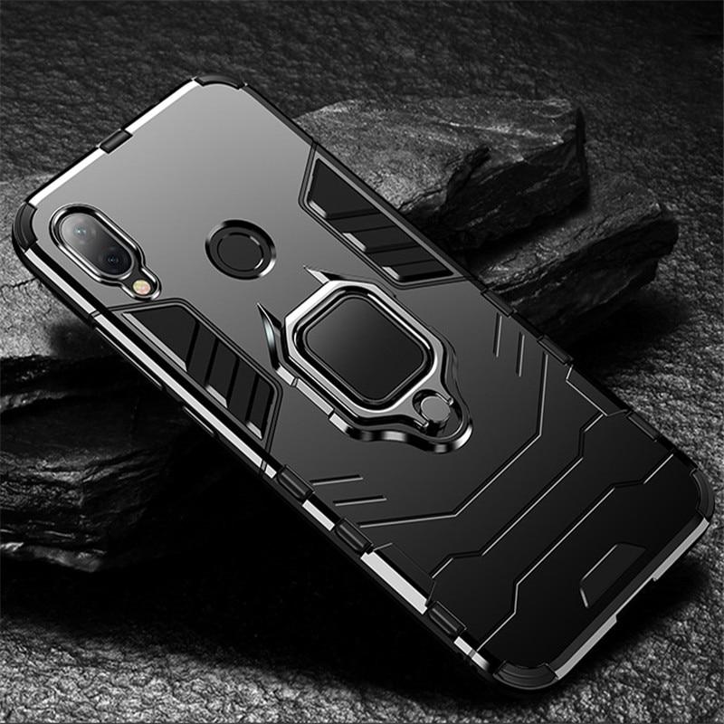 Чехол 4 в 1 для Xiaomi Redmi Note 7 7pro чехол противоударный Redmi 7 Note 7 Pro матовый черный защитный чехол Xiomi note7
