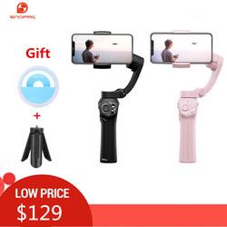 Snoppa Atom 3-Axls Foldable Pocket-Sized Handheld Gimbal Stabilizer Folding Stabilizer for iPhone for GoPro with charging