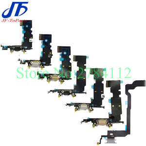 Image 2 - 10 stücke Ladegerät USB Dock Connector Für iPhone X 7 8 Plus 7P 8 P 7G 8G lade Port Kopfhörer Audio Jack Flex Kabel Relacement Teil