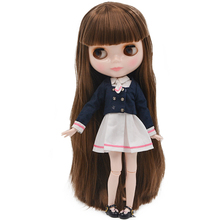 цены на Neo Blyth Doll NBL Customized Shiny Face,1/6 BJD Ball Jointed Doll Ob24 Doll Blyth for Girl, Toys for Children BNL12 в интернет-магазинах