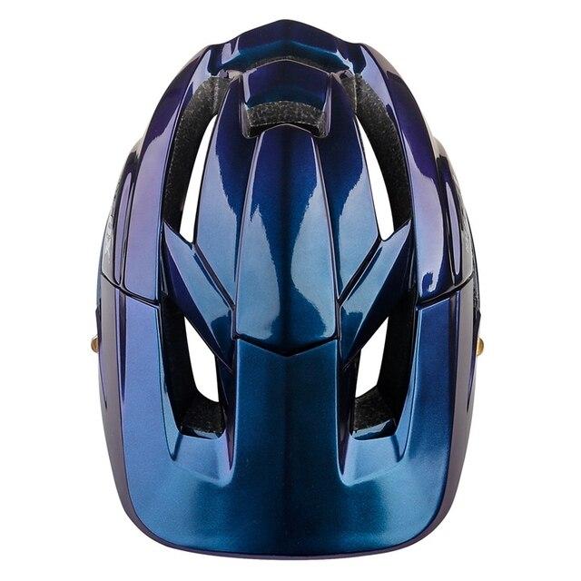 Batfox novo mtb bicicleta capacete com segurança tampa ultra-leve mountain road ciclismo esportes ao ar livre equitação capacetes de proteção 5
