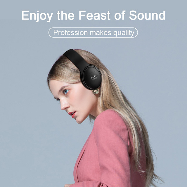 H1 Pro Wireless Gaming Headset Bluetooth V5.0 HD HIFI Stereo Noise Canceling Hands-free 2