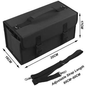 Image 4 - マーカーペン 120 穴油性アルコールマーカー描画するためのマンガブラシペンアニメーションデザインアート用品収納袋