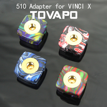 G-taste TOVAPO 510 Adapter elektroniczny papieros VINCI VINCI X akcesoria do VOOPOO VINCI Pod zestaw do e-papierosa tanie i dobre opinie for VINCI Vinci X Metal Blue Green Red Black White 1pcs pack