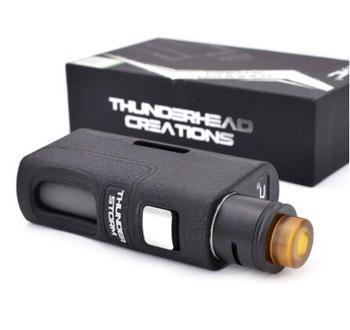 Kit original de Mod de boîte de Thunder Storm BF avec 8ml de double bobines RDA Mod de base d'injection Squonk kit de Mod mécanique 18650 20700 21700