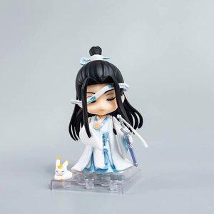 Image 5 - Anime Mo Dao Zu Shi arcymistrz demonicznej uprawy Lan Wangji 1109 pcv figurka Model kolekcjonerski Toy Doll prezent