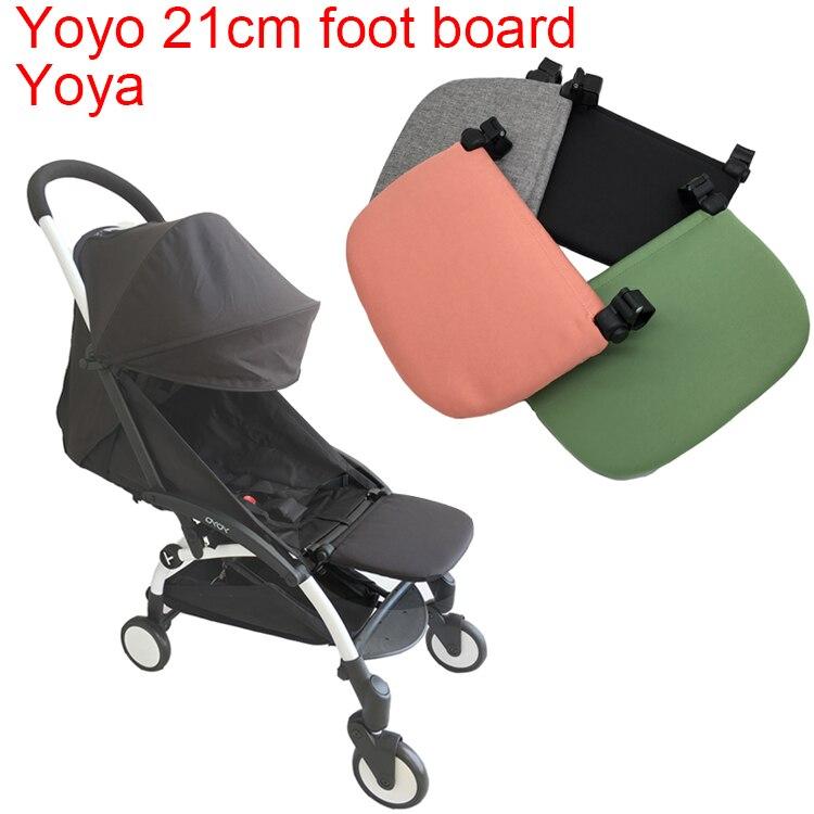 Yoya Stroller Accessories Foot Board Extend Footrest Extend Seat Board For Babyzen Yoyo Babysing Babytime Vovo Yuyu