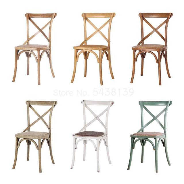 Cross Backed Chair 3