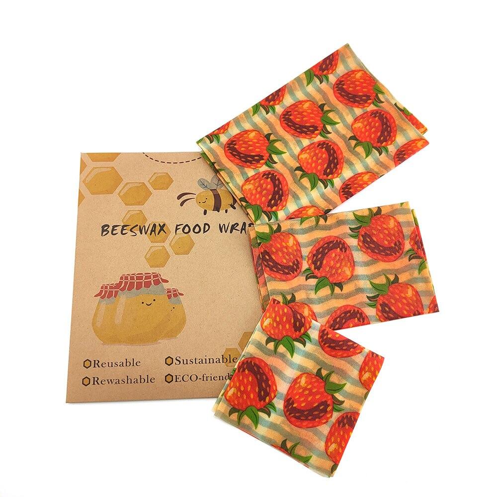 Пчелиная восковая ткань, свежая бумага, свежая ткань для упаковки пищевых продуктов, многоразовая пчелиная восковая ткань, обертывания для ...