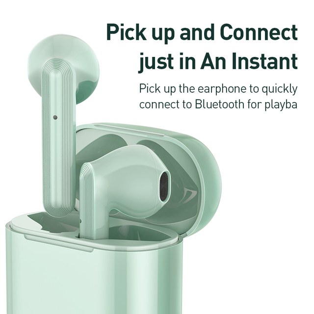 Baseus W09 TWS Bluetooth Earphone Touch Control With Stereo Bass Sound Smart Connect 5