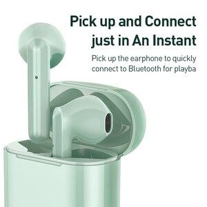 Image 5 - Baseus W09 TWS אלחוטי Bluetooth אוזניות אלחוטי אמיתי אוזניות אינטליגנטי מגע שליטה עם סטריאו בס קול חכם להתחבר