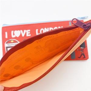 Image 5 - 20 шт./лот, винтажный пенал I love london series, пенал для карандашей, офисные школьные принадлежности