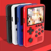 M3S Mini joueurs de jeu de poche 16 bits rétro jeu vidéo de poche intelligent USB charge Console de jeu avec carte de jeux 4G pour les enfants