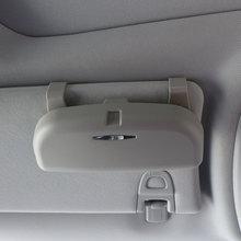 Carmilla Car Glass Glasses Box Sunglasses Holder Case for Subaru/Nissan/Toyota/GEELY/Chevy/LiFan/Hyundai/Citroen/Lexus/Renault