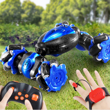 Special Effects Twisting Remote Control Car Toy 2.4GHz 4WD Gesture Control Mountain Bike A Variety Of Control Remote Control Car