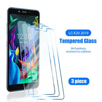 3 sztuk ekran szkło ochronne do LG K61 K51S K50S K50 HD twardość szkło ochronne do LG K41S K40S K40 K20 Plus folia wierzchnia tanie i dobre opinie vacusg TEMPERED GLASS FOLIA HD CN (pochodzenie) HD Protective Glass for LG K20 2019 Anti Scratch Tempered Glass for LG K20 Plus