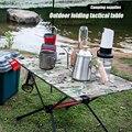 Tragbare Faltbare Camping Tisch Aluminium Legierung Outdoor Möbel Abendessen Schreibtisch für Familie Party BBQ Picknick