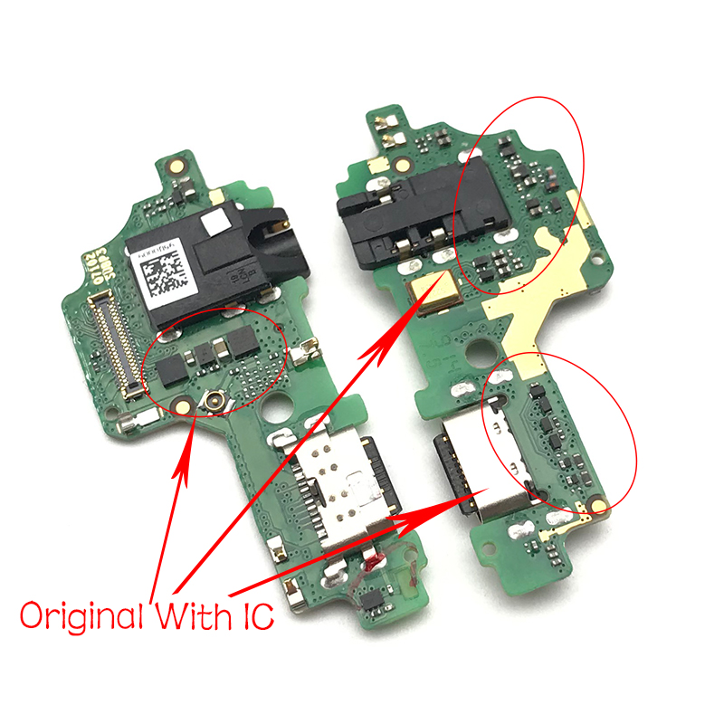 USB Charging Port Dock Charger Plug Connector Board Flex Cable For Lenovo Z6 Lite L38111