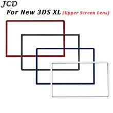 JCD plastikowy ekran ochronny Panel górna powierzchnia pokrywa dla Nintend nowy 3DS XL LL obudowa górny ekran osłona obiektywu dla New3DSLL