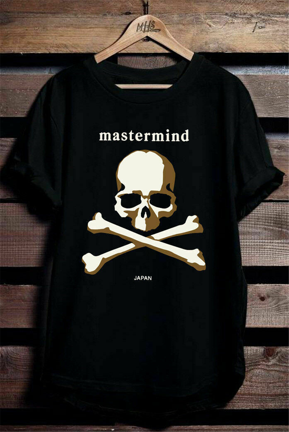 detailed look buy good sells New Mastermind Japan Logo Men'S T Shirts Black Plus Size Clothing ...