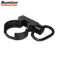 Tactical QD Quick Detach Black End Plate Sling Swivel Adapter for Hunting 223/5.56 Mount for Carbines AR15 M4 Rifle RL37-0105 стоимость