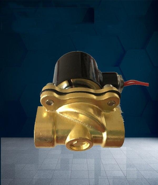 Продажа частей диспенсера воды Соленоидный клапан 220 В полностью Чистая медь четырехточечный Внутренний провод Соленоидный клапан