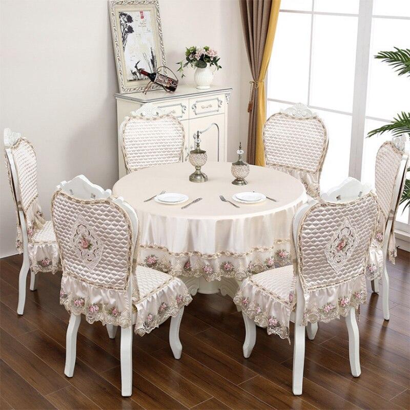 European Simulation Silk Dining Chair