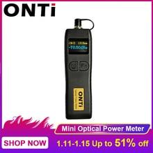 Onti 70 meter + 6dbm e 50 ~ + 26dbm handheld mini medidor de potência óptica