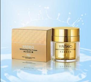 Image 1 - Freies verschiffen Neue Baschi bleaching creme Tag Creme Gold Verpackung natürliche revitalisierende zhen weiß schönheit tag creme kosmetik