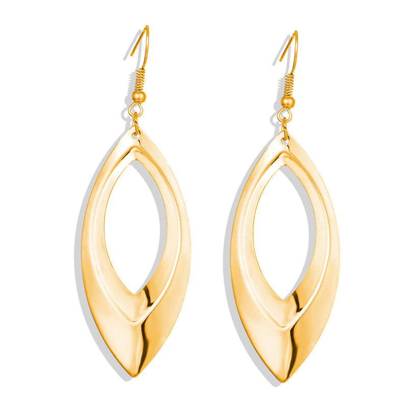 17 км винтажные Золотые круглые металлические серьги-гвоздики с блестками для женщин, модные серьги с полой сеткой, корейские ювелирные изделия, вечерние серьги, подарок - Окраска металла: CS5463