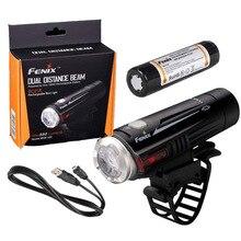 Fenix BC21R 880 люмен двойной дальний луч Cree XM-L2 T6 светодиодный USB Перезаряжаемый велосипедный фонарь с перезаряжаемой батареей