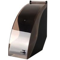 V60 suporte de papel de filtro/filtro cônico caixa de papel de filtragem suporte de rack de armazenamento de papel ferramentas de café à prova de poeira com capa|Filtros de café|Casa e Jardim -