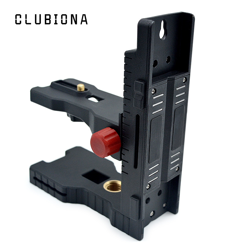 O ímã forte super fino puxa o suporte de nivelamento do l-suporte para o suporte universal do nível do laser