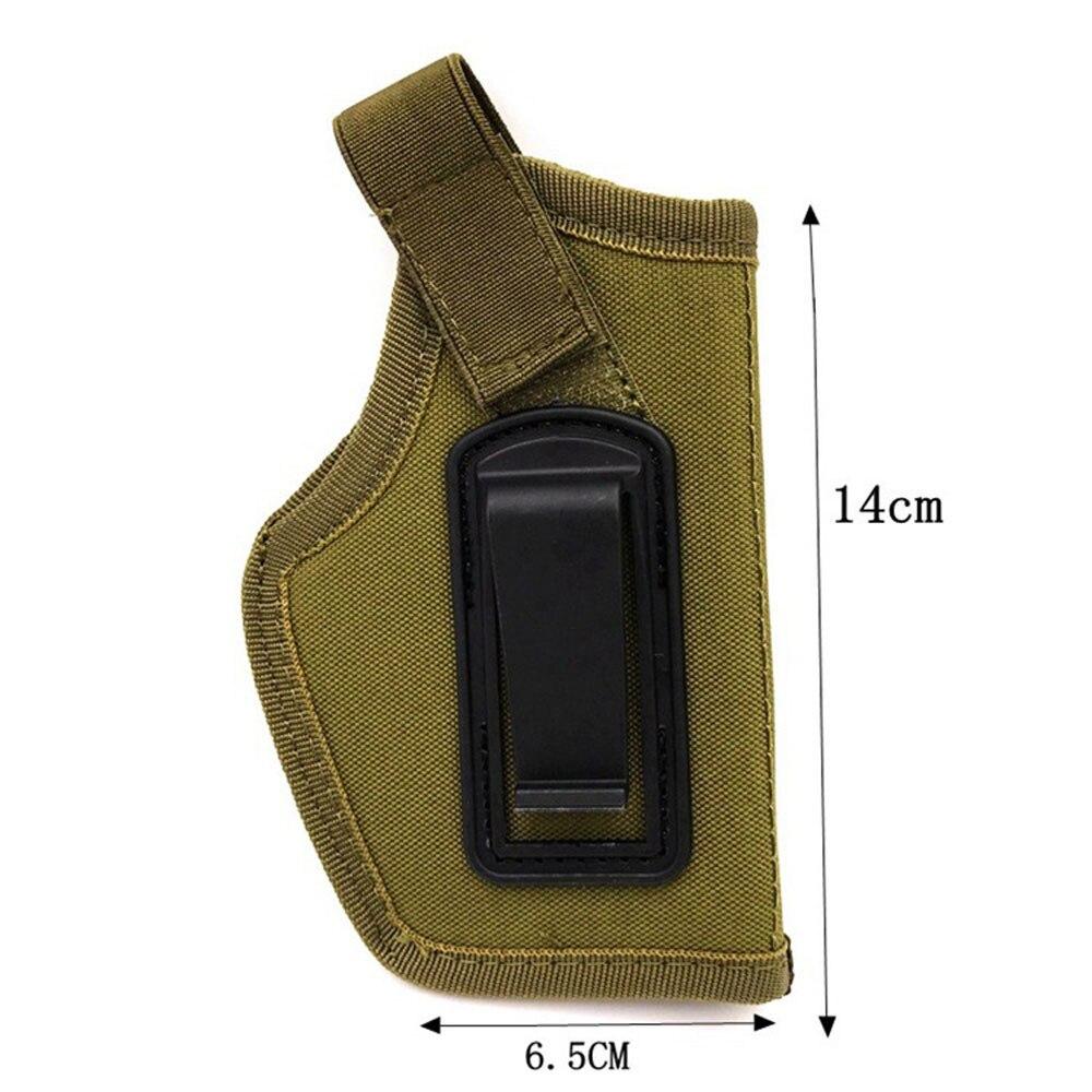 Details of Tactical Gun Concealed Belt Holster