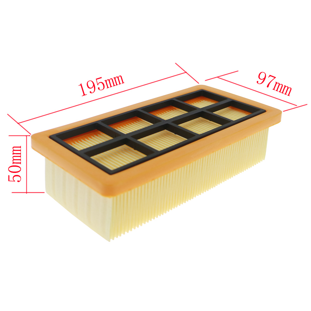 Replacements HEPA Filter For Karcher 6.415-953.0 AD 3.000 AD 3.200 Dust Cleaning Filter Accessories Vacuum Cleaner Filter