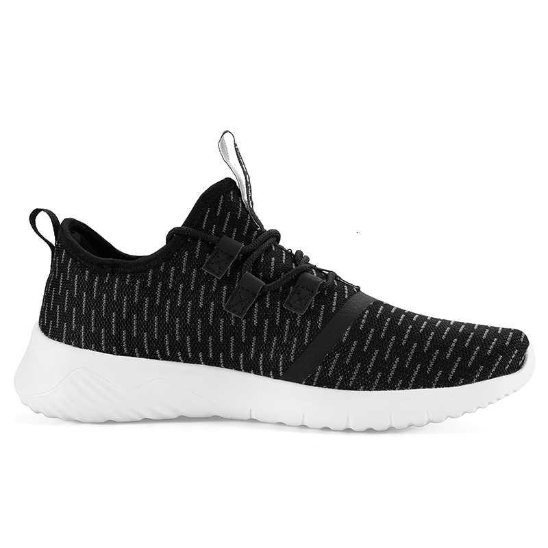Tepe erkekler rahat yürüyüş ayakkabısı örgü nefes Slip-On spor gençlik yaşam tarzı sokak ayakkabı erkekler sonbahar kış açık spor ayakkabı