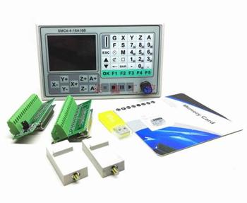 50KHZ CNC 4 Axis Offline Controller Motion Control Board Carving Engraving Machine Control System Card SMC4-4-16A16B
