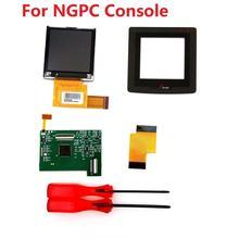 Pantalla LCD de luz trasera para NGPC, Kits de alta iluminación para consola SNK NGPC, luz de pantalla LCD