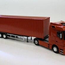 Литой под давлением сплав 1:50 Масштаб красный Tex модель грузовика-контейнеровоза воздушный транспорт корабль автомобиль игрушка коллекция детских игрушек подарки
