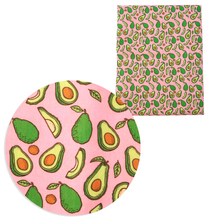 Tissue Cotton-Fabric for Kids Home-Textile Sewing-Doll Avocado Leaf-Printed Polyester
