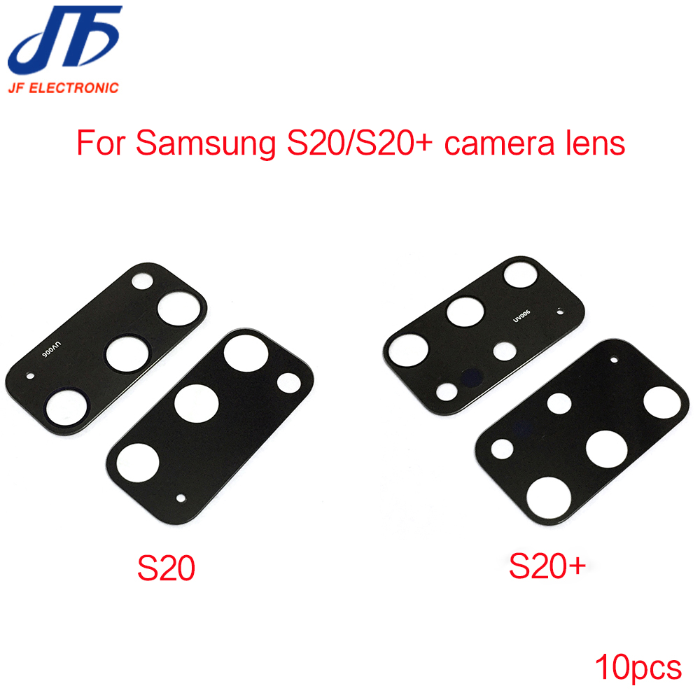 All Carriers with Repair Tools 2 Pieces Galaxy S20 Rear Back Camera Glass Lens Cover Replacement for Samsung Galaxy S20 Black S20