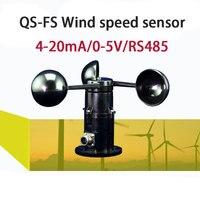 Transmissor de velocidade do vento anemomete sensor de vento direto da fábrica (0-5 v sinal de tensão)