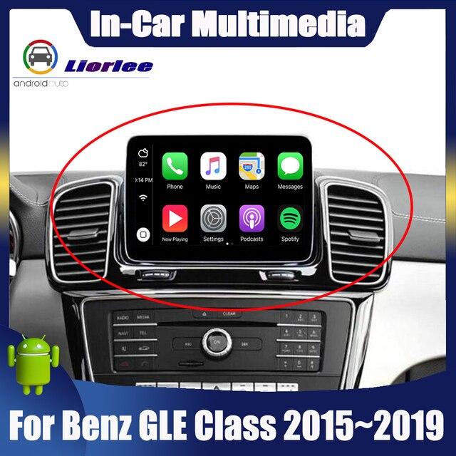 נגן מולטימדיה לרכב עבור מרצדס בנץ GLE כיתת 350 450 500 580 63 w166 2011 ~ 2019 רדיו אנדרואיד GPS ניווט 4G מערכת